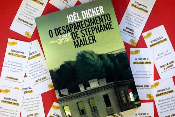 """Descubra o que os leitores acharam de """"O desaparecimento de Stephanie Mailer"""""""