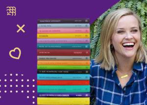 4 provas de que Reese Witherspoon ama o clube intrínsecos
